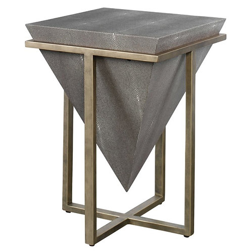 Tempe Side Table - Shagreen