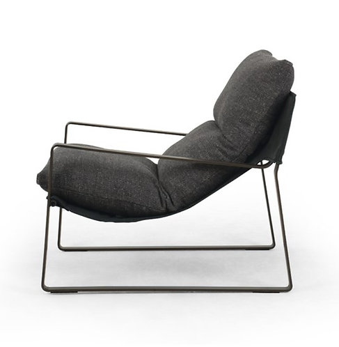 Gryff Accent Chair - Charcoal