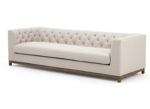 Lamar Tufted Sofa - Fabric