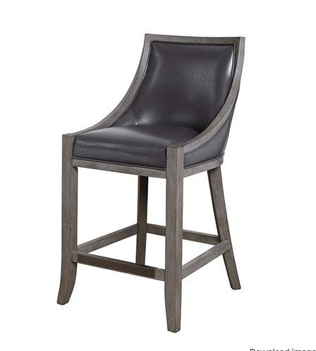 Brandon Counter  Stool - Steel Grey