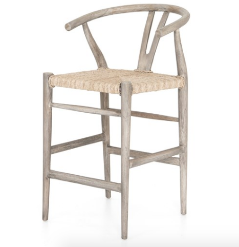 Greve Counter and Bar Stools - Grey