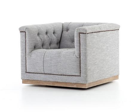 Bleriot Swivel Chair - Gray