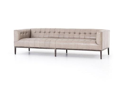 Sullivan Leather Sofa - Stone
