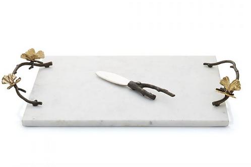 Fulfilled - BUTTERFLY GINKGO CHEESE BOARD W/ KNIFE
