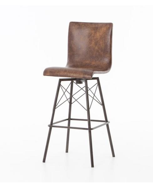 Jackson Bar or Counter  Stools - Vintage Brown