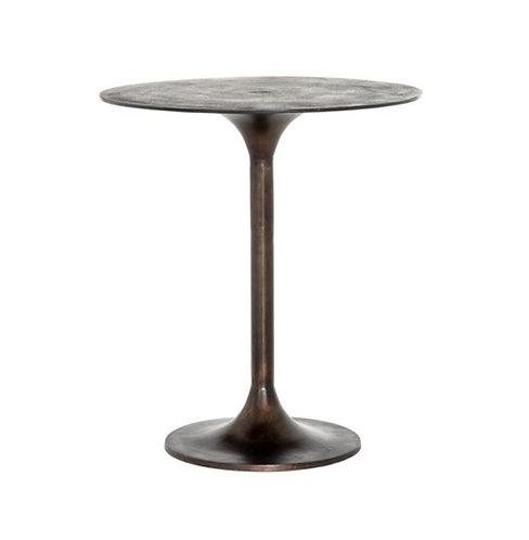 Tulip Counter or Bar Table - Antique Rust