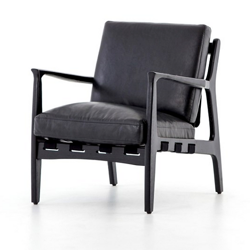 Klosters Chair - Distressed Black