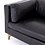 Thumbnail: Helena Leather Sofa - Black