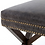 Thumbnail: Hyde Leather Bench - Black