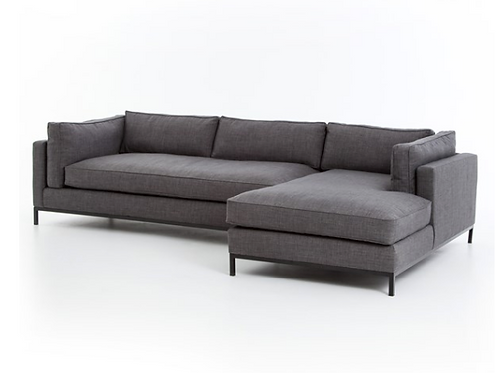 Ganton Sectional - Charcoal