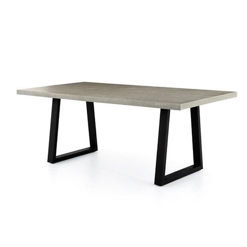 Culver Concrete Top Dining Table Indoor/Outdoor