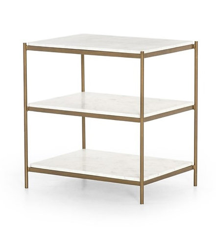 Lana Side Table - Brass