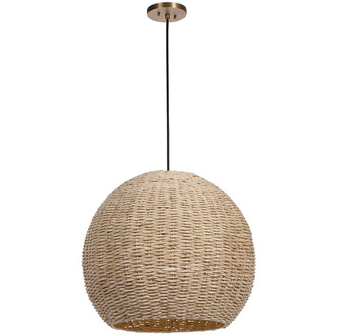 Seagrass Large Pendant