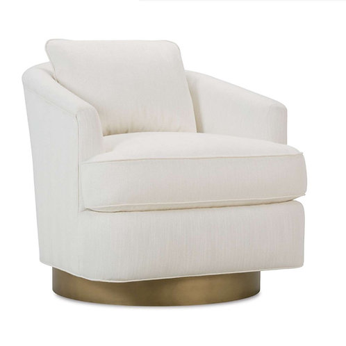 Adele Swivel Chair - Custom Fabrics