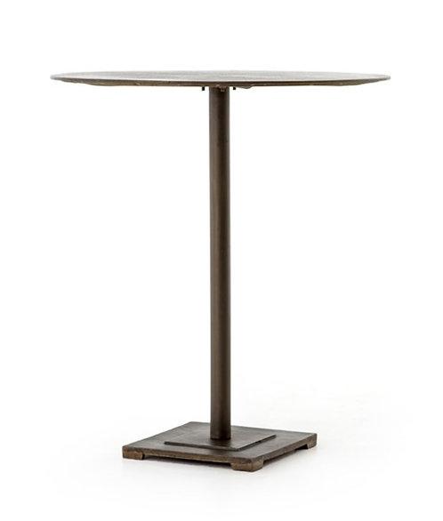 Brando Counter or Bar Table - Aged Brass