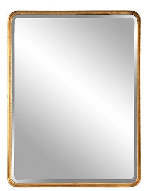 Charlton Mirror - Gold Leaf