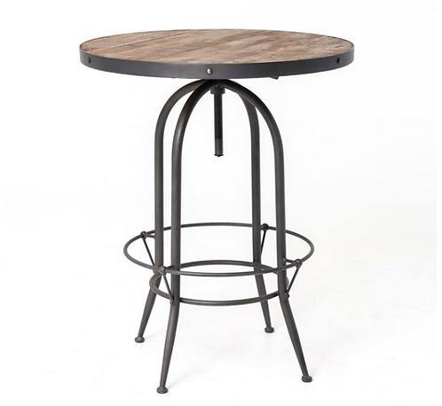 Casks Pub Table - Adjustable Height