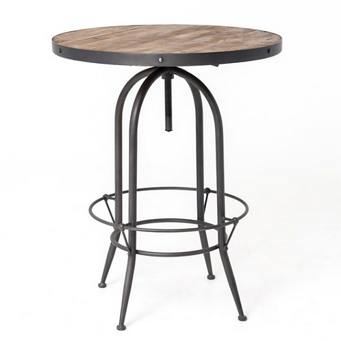 Casks Pub Table - Adjustable Height