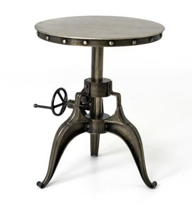 Allentown Crank Side Table