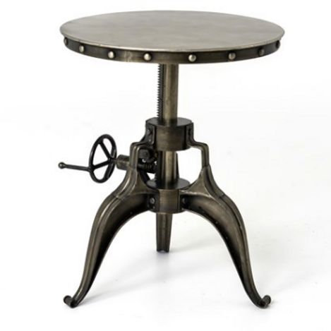 Allentown Crank Side Table