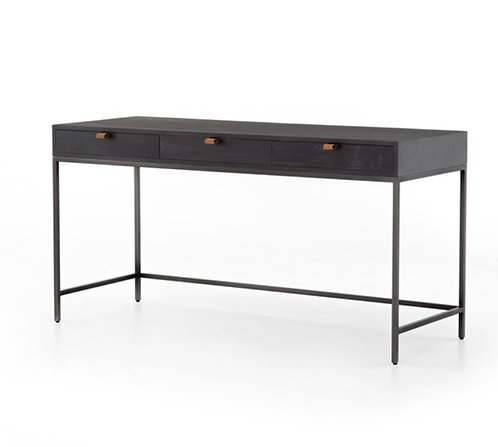 Atlas Writing Table - Black