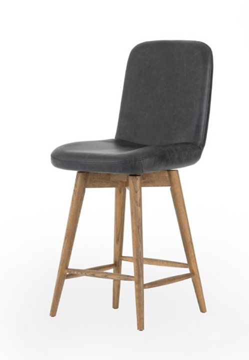 Lazlo Bar or Counter  Stools - Leather