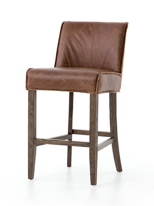 Stellan Bar or Counter  Stools - Leather