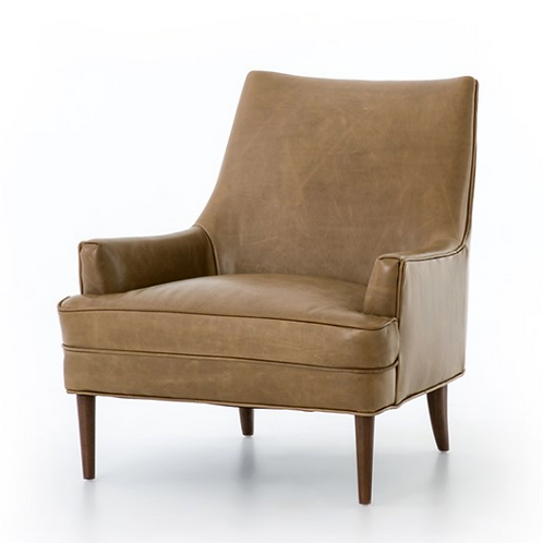 The Harrison Chair - Brown Leather