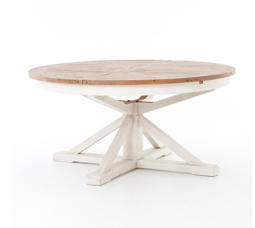 """Lucca Round Extension Table - 63"""""""