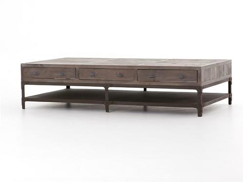 Iron & Pine Coffee Table - Large