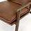 Thumbnail: Zermatt Accent Chair - Brown Leather