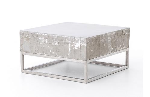 Concrete & Steel Coffee Table