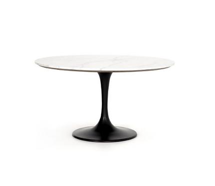 """Eden Marble Top Dining Table - 42"""" or 55"""""""