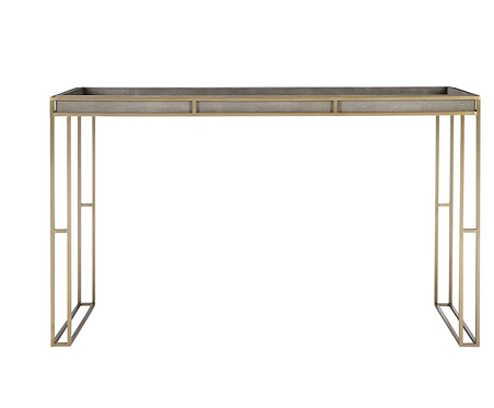 Gramercy Shagreen Console Table