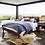 Thumbnail: Harper Tufted Bed - Brown