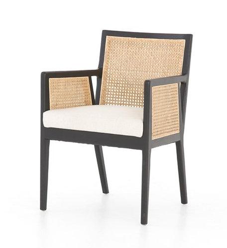 Serena Dining Arm Chair - Black