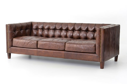 Bowery Leather Sofa