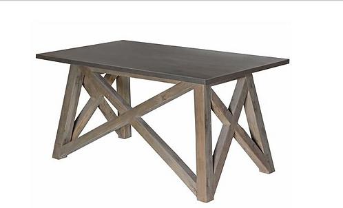 Fountainhead Desk - Zinc Top