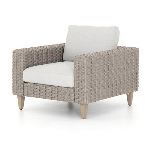 Como Outdoor Accent Chair - Stone Grey