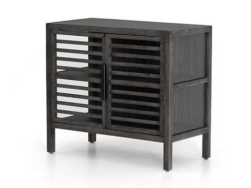 """Fumed Oak Cabinet - 33"""""""