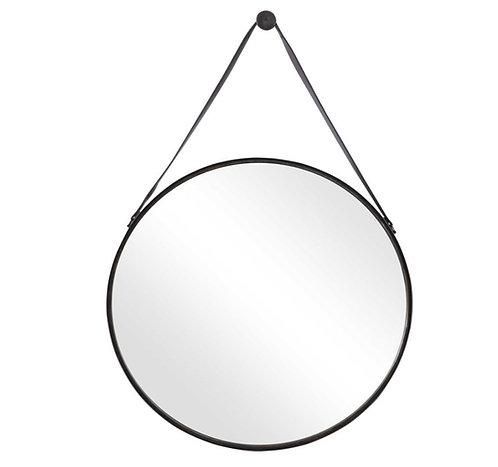 """Jules Round Mirror - 30"""""""