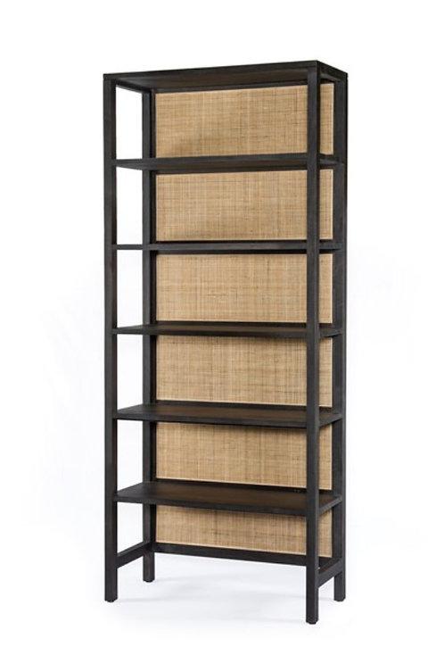 Sorano Bookshelf - Black Wash