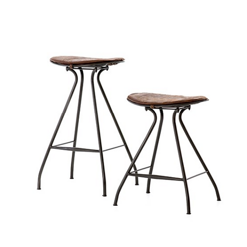 Bozeman Bar or Counter Stools - Vintage Brown