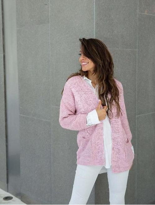 7426 Saco de lana con bolsillos