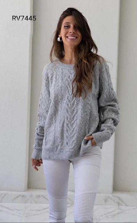 7445 Pulover de lana, importado.  Calidad premium
