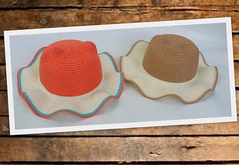 K-210 Sombreros playeros para niñas