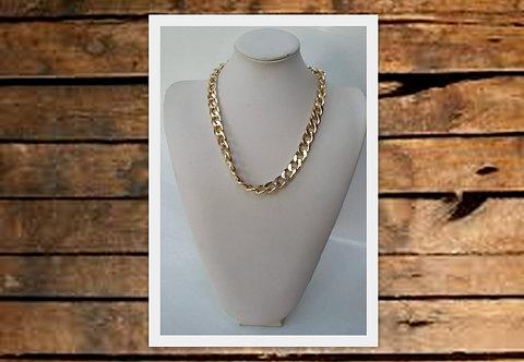 B-578 Collar metálico, dorado