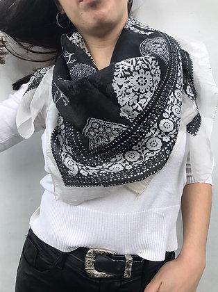PÑ65 - Pañuelos de seda. 100% SEDA NATURAL. Origen: India