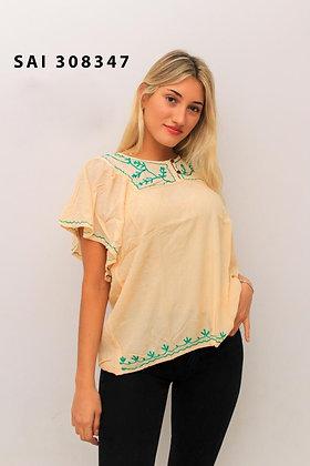 308347 - Blusa de bambula, con bordados