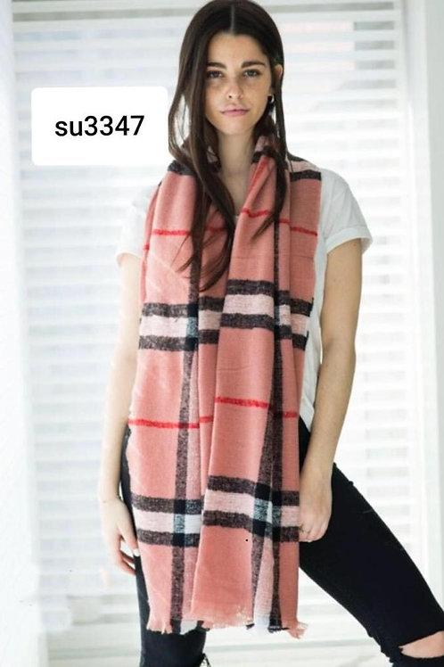 3347 Bufandón de lana escosés